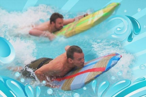 Cardboard Surfer Challenge