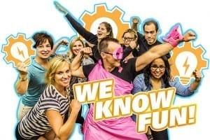 team building corporate training fun events