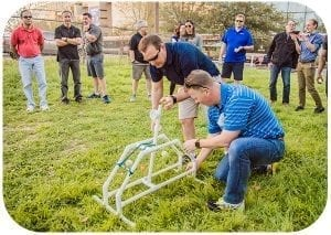 Catapult Build Team Building Event